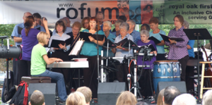 Sanctus Choir at Rofum