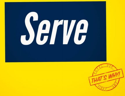 That's Why! Serve