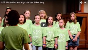 The Canticle Choir - Sing to the Lord